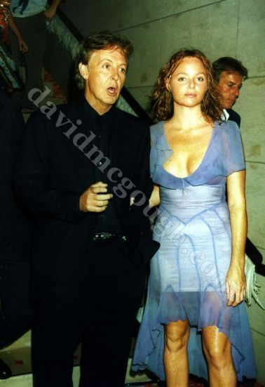 Paul McCartney Daughter Heather 1999 NYC